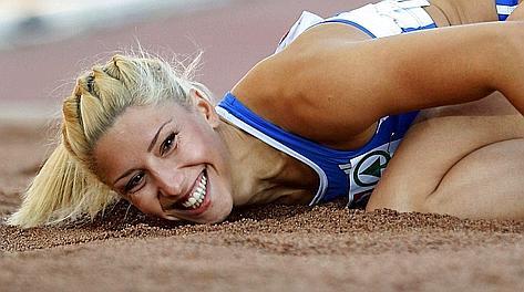 L'alteta greca cacciata dalle Olimpiadi di Londra