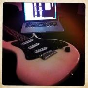 Il primo giorno con la chitarra nuova