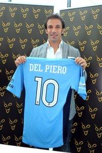 Presentazione di Alex Del Piero