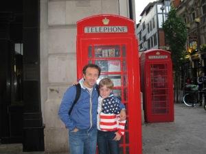 Filippo e Alex a Londra