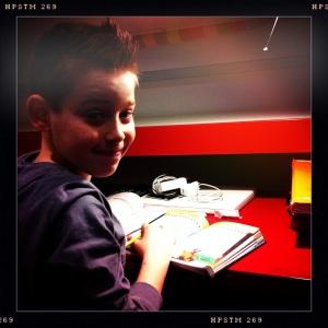 Filippo e i compiti del week end